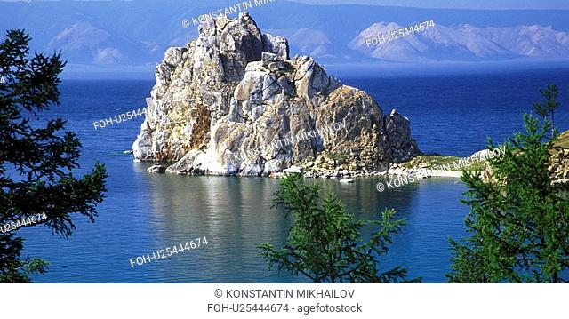 Baikal, East Siberia, Eatern Siberia, Siberia, cliff, cliffs, crag