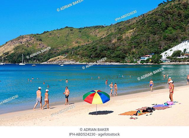 Thailand Phuket Nai Harn One of the best beaches on Phuket