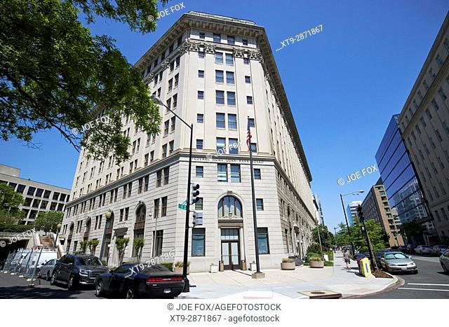 Federal home loan bank board building Washington DC USA