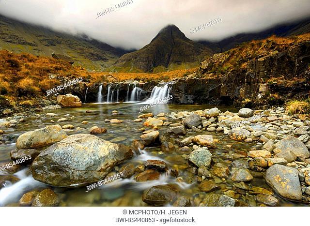 Fairy Pools, United Kingdom, Scotland, Isle of Skye
