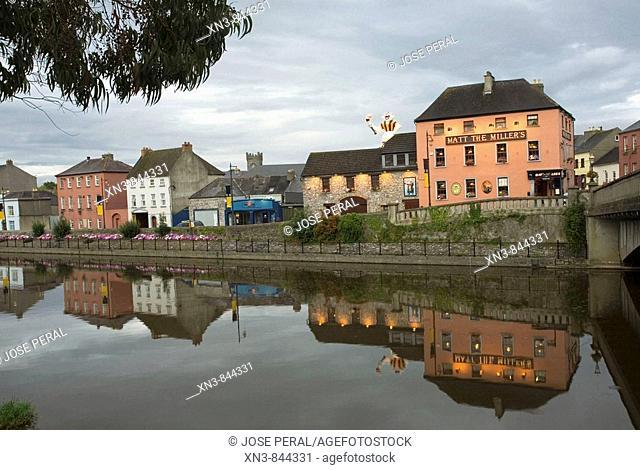 Ireland, Kilkenny, County Kilkenny, River Nore