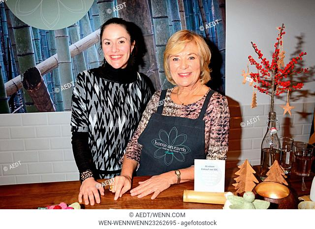 Celebrities attend the opening of Home on Earth store at Hackesche Hoefe Featuring: Antonia Feuerstein, Jutta Speidel Where: Berlin