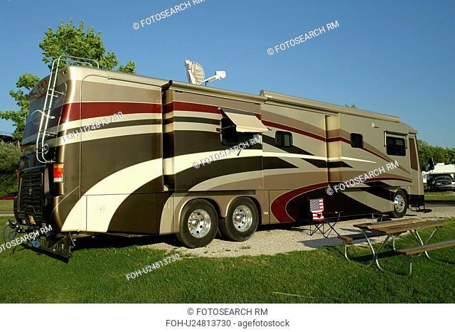 Ashland, WI, Wisconsin, Lake Superior, campground, motor coach, RV