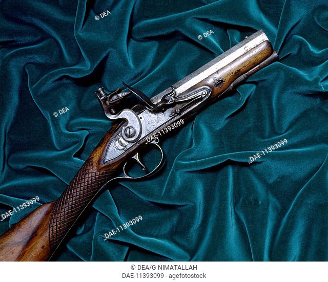 Horatio Nelson's gun. England, 19th century.  Monmouth, Nelson Museum And Local History Centre
