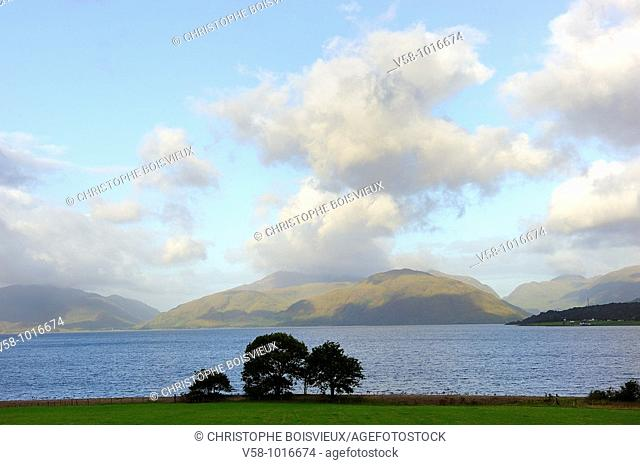 Loch Linnhe. Scotland. Great Britain