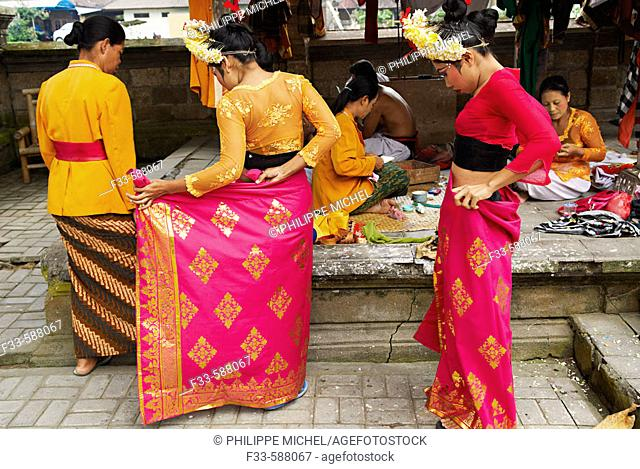Indonesia. Bali. Legong dancer
