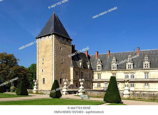 France, Meurthe et Moselle, Fleville devant Nancy, Fleville castle