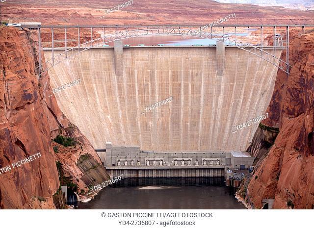 Glen Canyon Dam, Page, Arizona, USA