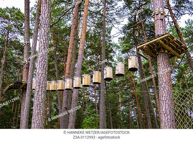 """""""""""""""""""""""JŠ«rmalas TarzÄ. ns"""""""" adventure park - now open in the Dzintari Forest Park, Latvia, Europe. The """"""""JŠ«rmalas TarzÄ. ns"""""""" adventure park has five obstacle..."""
