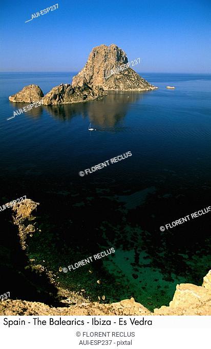 Spain - The Balearics - Ibiza - Es Vedra Spain