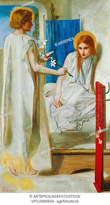 Dante Gabriel Rossetti - Ecce Ancilla Domini!