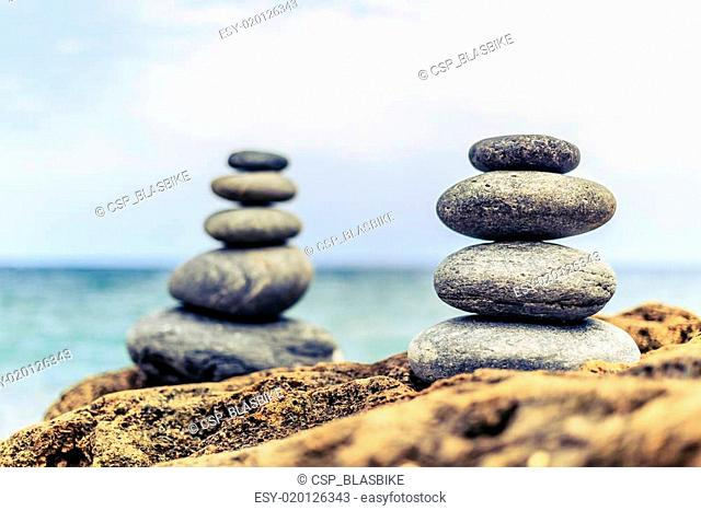 Stones balance inspiration peaceful concept