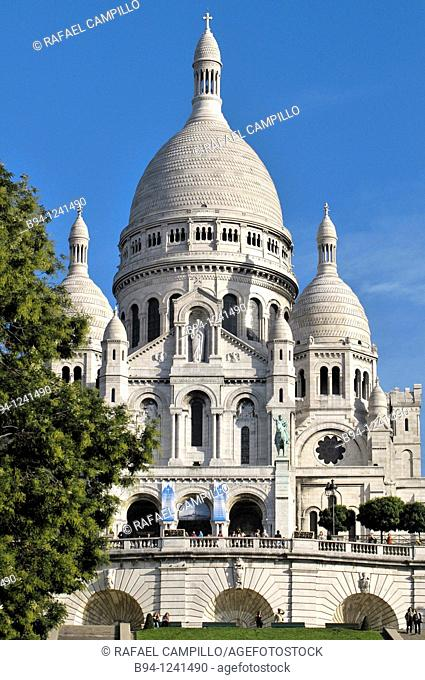 Basilica of the Sacred Heart, Montmartre, Paris, France