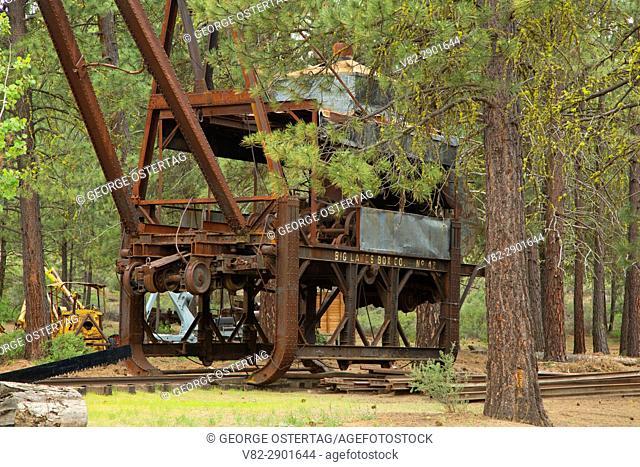 Logging equipment, Logging Museum, Collier Memorial State Park, Oregon
