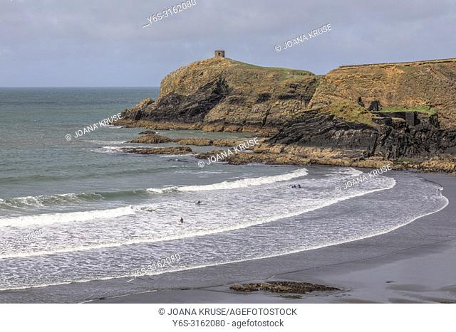 Abereiddy Beach, Pembrokeshire, Wales, UK, Europe