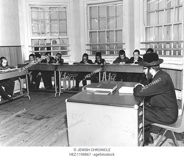Jewish primary school children, c1985
