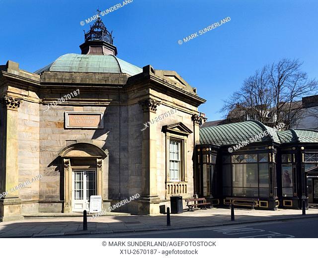 Royal Pump Room Museum Harrogate North Yorkshire England