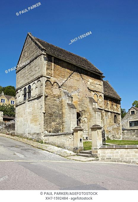 The Saxon Church of St Laurence, Bradford on Avon, Wiltshire, England, UK