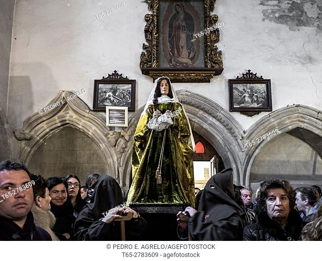 Easter in Vivero is a Catholic celebration that takes place in the Spanish city of Vivero (Lugo). It is one of the oldest religious celebrations in Galicia