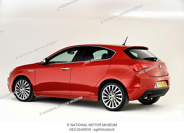 2013 Alfa Romeo Giulietta Artist: Unknown