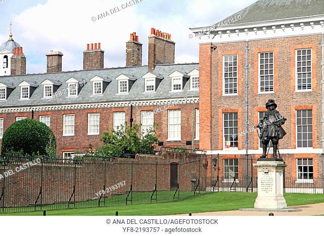 Palace of Kensington Hyde park London UK