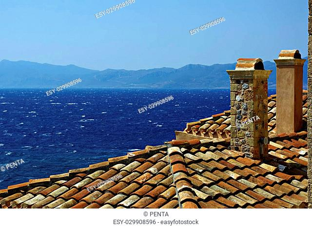 Monemvasia is a powerful medieval fortress town in Greece located on a small peninsula off the east coast of the Peloponnese linked to the mainland by a short...