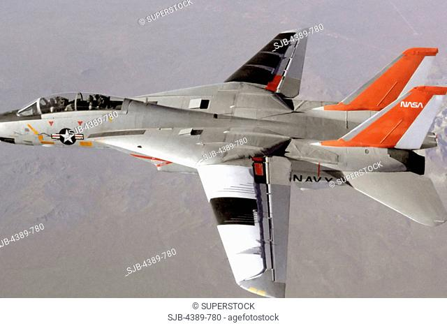 F-14 in Variable Sweep Transition Flight Experiment