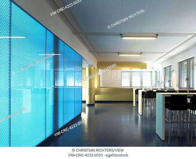 Cafeteria. German Aerospace Centre (DLR), Bremen, Germany. Architect: Kister Scheithauer Gross, 2012