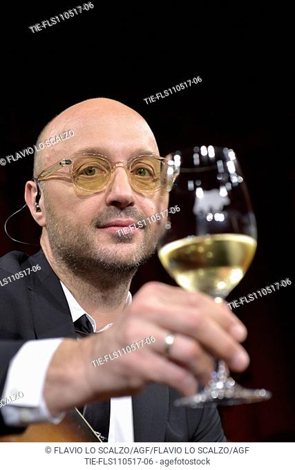 Joe Bastianich during the photo call, Milan, ITALY-10-05-2017