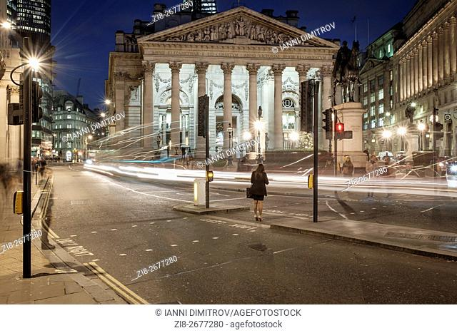 City of London,The Royal Exchange,2015