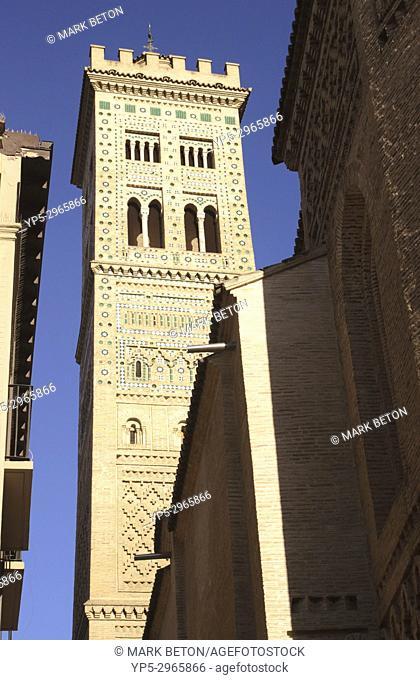 Iglesia de Santa María Magdalena Zaragoza Spain