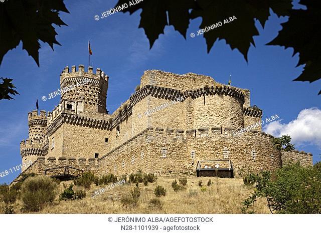 Castillo de los Mendoza. Manzanares El Real, Madrid, Spain