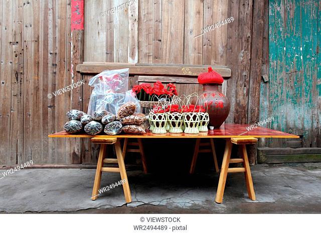 Sichuan city of Luzhou province Hejiang County Yao Ba town,China