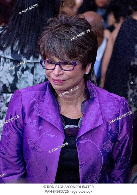 Valerie Jarrett, Senior Advisor to the President of the United States and Assistant to the President for Public Engagement and Intergovernmental Affairs arrives...