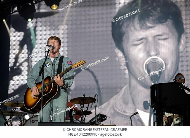 James Blunt at Pori Jazz 2014