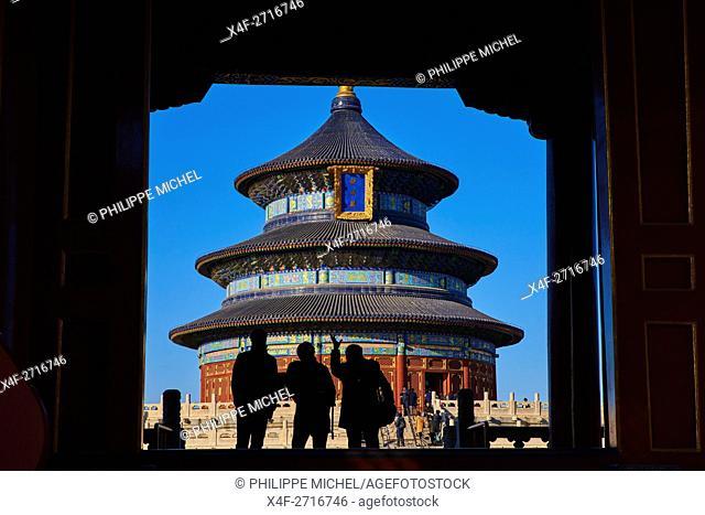 China, Beijing, Temple of Heaven, Unesco world heritage