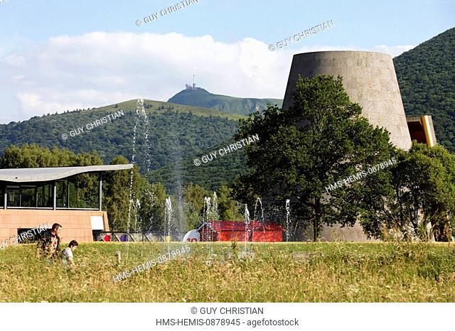 France, Puy de Dome, Parc Naturel Regional des Volcans d'Auvergne (Natural regional park of Volcans d'Auvergne), Saint Ours, Vulcania