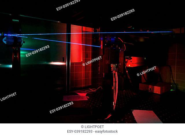 Lasers in a quantum optics lab