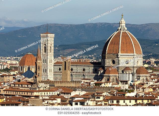 Basilica Santa Maria Del Fiore in Florence, Italy
