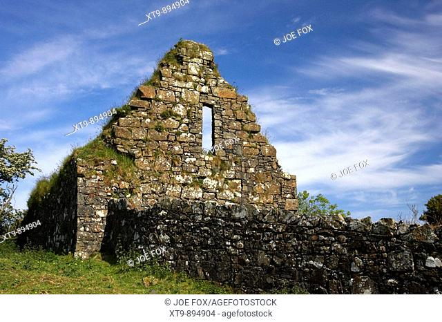 skerry old church county antrim northern ireland uk