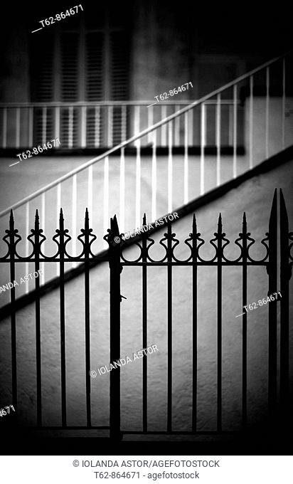 Lines  Architecture  Railings, stairs and windows