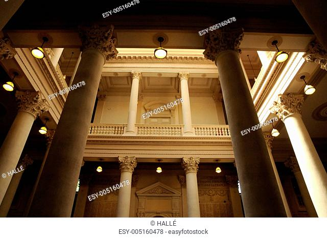 France, Provence, interior of the city hall of Avignon