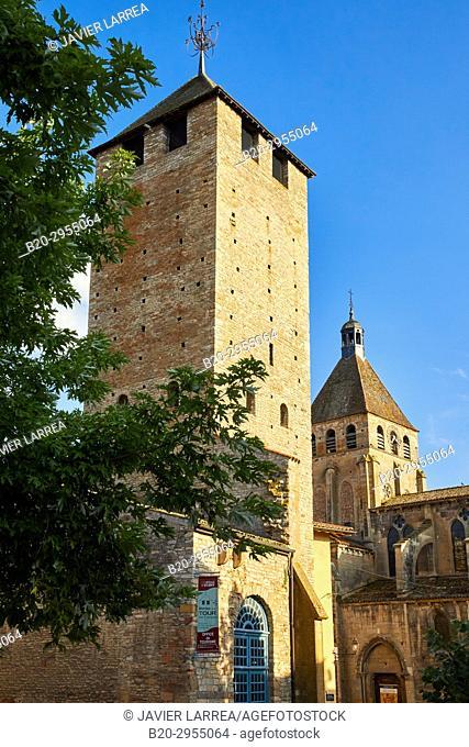 Tour des Fromages, Cluny, Saone-et-Loire Department, Burgundy Region, Maconnais Area, France, Europe