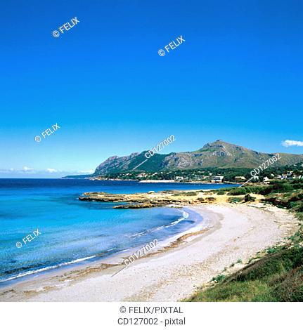 Bay of Pollensa. Majorca. Balearic Islands. Spain