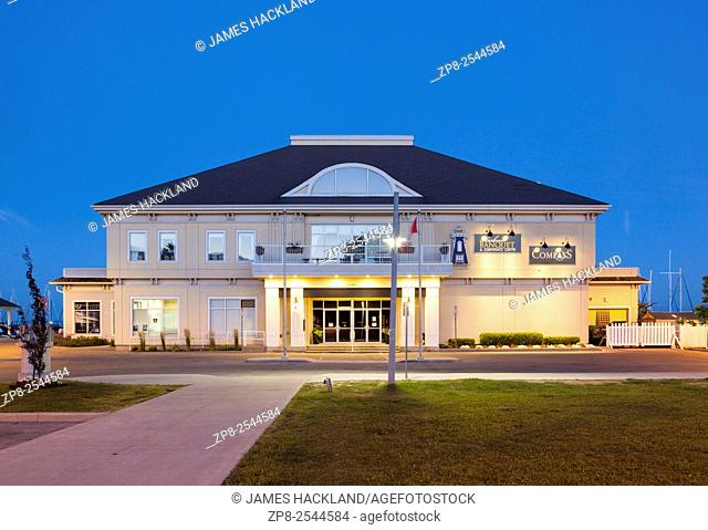 The Harbour Banquet & Conference Centre, at Bronte Outer Harbour Marina. Bronte, Oakville, Ontario, Canada
