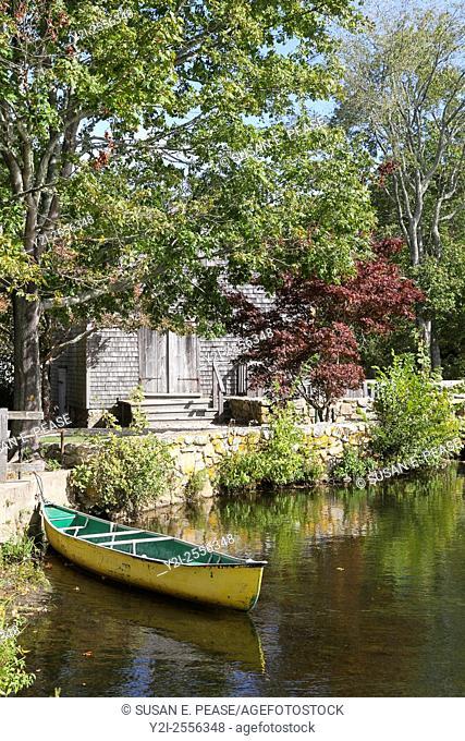 Shawme Pond, Sandwich, Cape Cod, Massachusetts, United States, North America