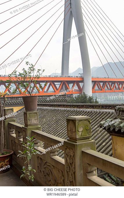 Twin River Bridge in Chongqing, China
