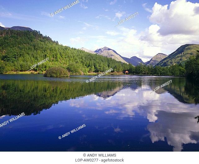 Scotland, Highland, Glencoe, The Lochan at Glen Coe
