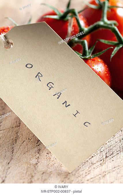 Close-up Of Organic Tomato
