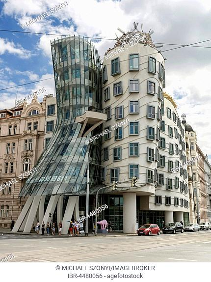 Dancing House, Tancící dum, Prague, Czech Republic